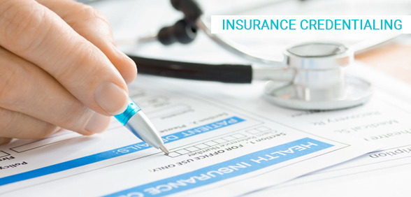 Insurance credentialing services