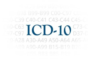 ICD-10 codes of medical billing