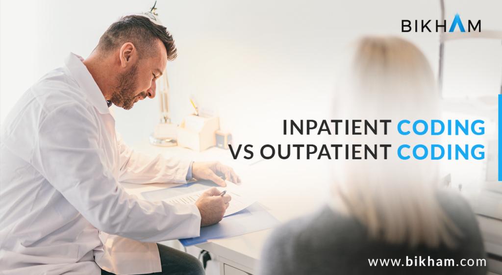 inpatient coding vs outpatient coding