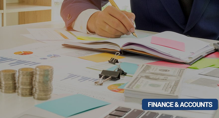 FINANCE & ACCOUNTS